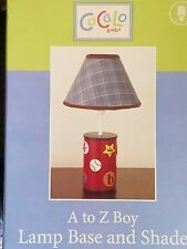 New Cocalo A To Z A-Z Lamp Base & Shade