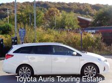 Toyota Auris Estate Touring 2014-2016 window visor Deflector Window Rain Guard