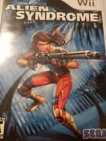 Alien Syndrome (Nintendo Wii, 2007) Tested and  Working. Disc Only