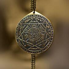 Seal Sigil of Seven Archangels Solomon kabbalah amulet pendant Goetia Holy seal