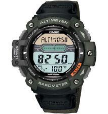Casio Twin Sensor Watch, Altimeter, Barometer,Thermometer, 5 Alarms,SGW300HB-3AV