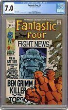 Fantastic Four #92 CGC 7.0 1969 3747024012