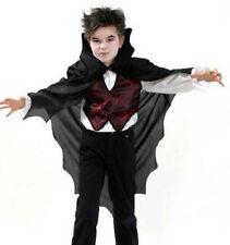Fasching Halloween Kinderkostüm Dracula Oberteil mit Cape Gr. 128 NEU OVP