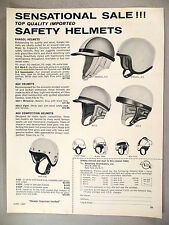 Kangol Motorcycle Helmets PRINT AD - 1963 ~ Accessory Distributors