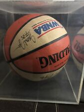 WNBA Autograph Basketball - Miami Sol Entire Team And Coach W/ Display Case