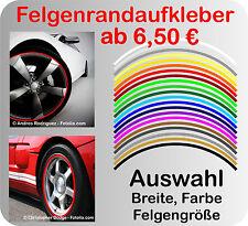 Felgenrand Aufkleber Auto & Motorrad ,Felgenrandaufkleber, Felgenaufkleber Ringe
