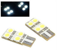 2x Xenon White LED T10 SMD Mirror Puddle Light Step Side Door Courtesy Lamp bulb