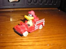Vintage Diecast Ertl Looney Tunes Daffy Duck Fire Truck with figure
