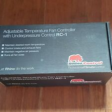 Rhino RC-1 Twin Fan Speed Controller. Climate Temperature Control