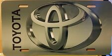 TOYOTA LOGO CUSTOM LICENSE PLATE CAR  EMBLEM Version II
