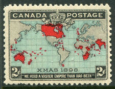 CANADA #86 FVF Never Hinged Issue Pulled Perf - Canadian Map - S7976