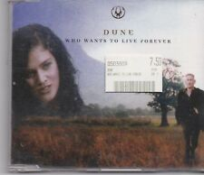 Dune-Who Wants To Live Forever cd maxi single