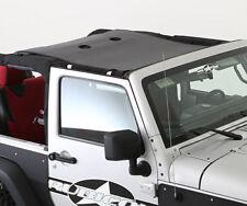 Smittybilt Cloak Extended Black Mesh Top for 07-17 Jeep JKU Wrangler 95500