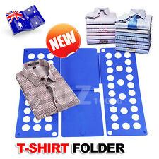 Magic Clothes Folder T-Shirt Top Folding Board Flip Fold Adult Laundry Organizer