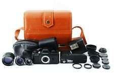 Asahi Pentax Auto 110 Camera SLR System with Case And Extra Lens 612644
