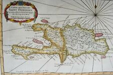 Dominican Republic, Haiti, map Bellin, 1759, Carte de l´Isle de Saint Domingue