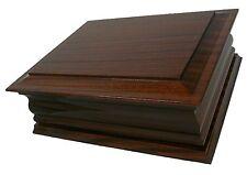Hilda Double Solid Wood Ashes Casket Keepsake