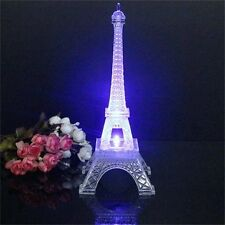 DE Barcelos COLOR changing Plastic EIffel Tower Showpiece