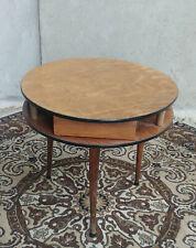 Petite table ronde guéridon vintage