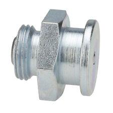 M12 x 1,0 [10 Stück] DIN 3404 Ø16mm Flachschmiernippel Stahl verzinkt