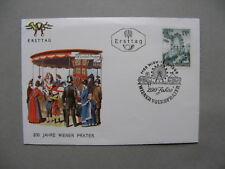 AUSTRIA. cover FDC 1966, 200th ann Wiener Prater, Vienna giant wheel, funfair
