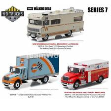 GREENLIGHT 33070 H.D. Trucks Series 7 SET OF 3 DIECAST CARS 1:64 NEW!!