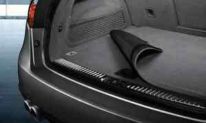 Porsche Cayenne Reversible Cargo Loadspace Mat Carpet Rubber 958 2011+ E2 Black