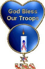 Address Labels - Patriotic - Good Bless Our Troops 01