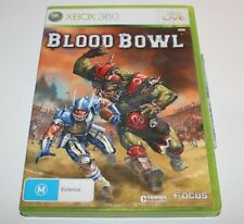 XBOX 360 BLOOD BOWL GAME WARHAMMER COMPLETE