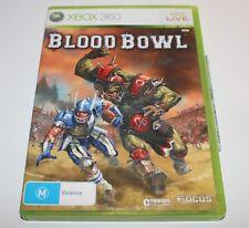 XBOX 360 BLOOD BOWL GAME WARHAMMER
