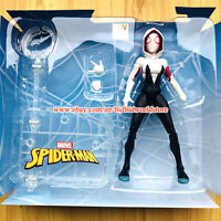 Spider Gwen Stacy Spiderman into the Verse Marvel Comic Heroes 7in Action Figure