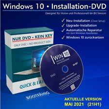 Windows 10 Service CD/DVD - Reparatur, Upgrade und Neu-Installation - Home / Pro