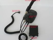 PTT HAM FOOT SWITCH W / RJ-45 CONN FOR YAESU MD-100/200A8X or M-1 MIC BASE