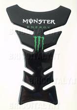 Monster Energy Protezione Serbatoio Moto Adesiva Carbon Paraserbatoio 21x13 cm