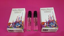 Miller Harris Scherzo Eau De Parfum 2ml x 2 NEW IN BOX