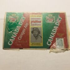 NEW 1979 BAKE McBRIDE Philadelphia Phillies #21 Canada Dry Ginger Ale Can Flat