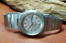 RARE VINTAGE SEIKO BELL MATIC SILVER DIAL DAYDATE AUTOMATIC MAN'S WATCH
