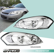 Fit For Chevy 06 13 Impala 06 07 Monte Carlo Chrome Clear Corner Headlights Pair Fits 2006 Impala