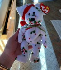 ORIGINAL 1998 Holiday Teddy (Beanie Babies Collection) - Retired/Limited Edition