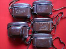Five Vintage Kodak Retina Camera Cases (No Cameras Included)
