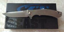 NEW ZT ZERO TOLERANCE 0450 SINKEVICH DESIGN TITANIUM HANDLE S35VN STEEL KNIFE