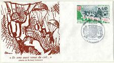 1976-Fdc 1° Jour-Anniversaire Débarquement en Normandie-Arromanches-Yt.1799
