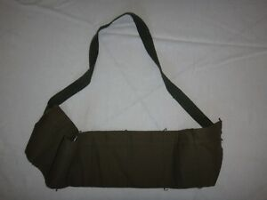 New Old Stock Military 7-Compartment Ammo Green OD Cotton Carrier