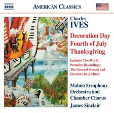 James Sinclair - Charles Ives: Decoration Day; Fourth of July; Thanksgiving