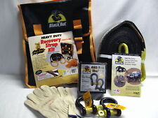 BLACK RAT 4WD SNATCH STRAP OFF ROAD RECOVERY KIT BRAND NEW ****SALE SPECIAL****
