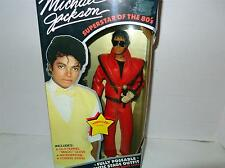 MICHAEL JACKSON- SUPERSTAR OF THE 80'S DOLL- 'THRILLER' '  OUTFIT-MINT - BB4
