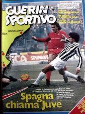 Guerin Sportivo 3 1982 Poster Cesena 1982-83 + Albi Mundial 82 Algeria  [GS.32]