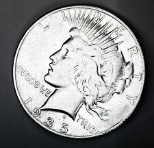 1935-p Peace Silver Dollar. Better Grade.   (INV.A)