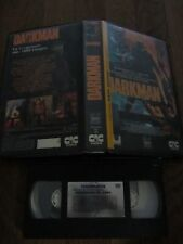 Darkman de Sam Raimi, VHS CIC, Horreur, RARE!!!!