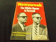 1973 MAY 7 NEWSWEEK MAGAZINE- WHITE HOUSE TURMOIL - BEAUTIFUL FRONT COVER- A876